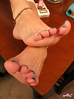 Foot Fetish at AngelKissedFeet.com