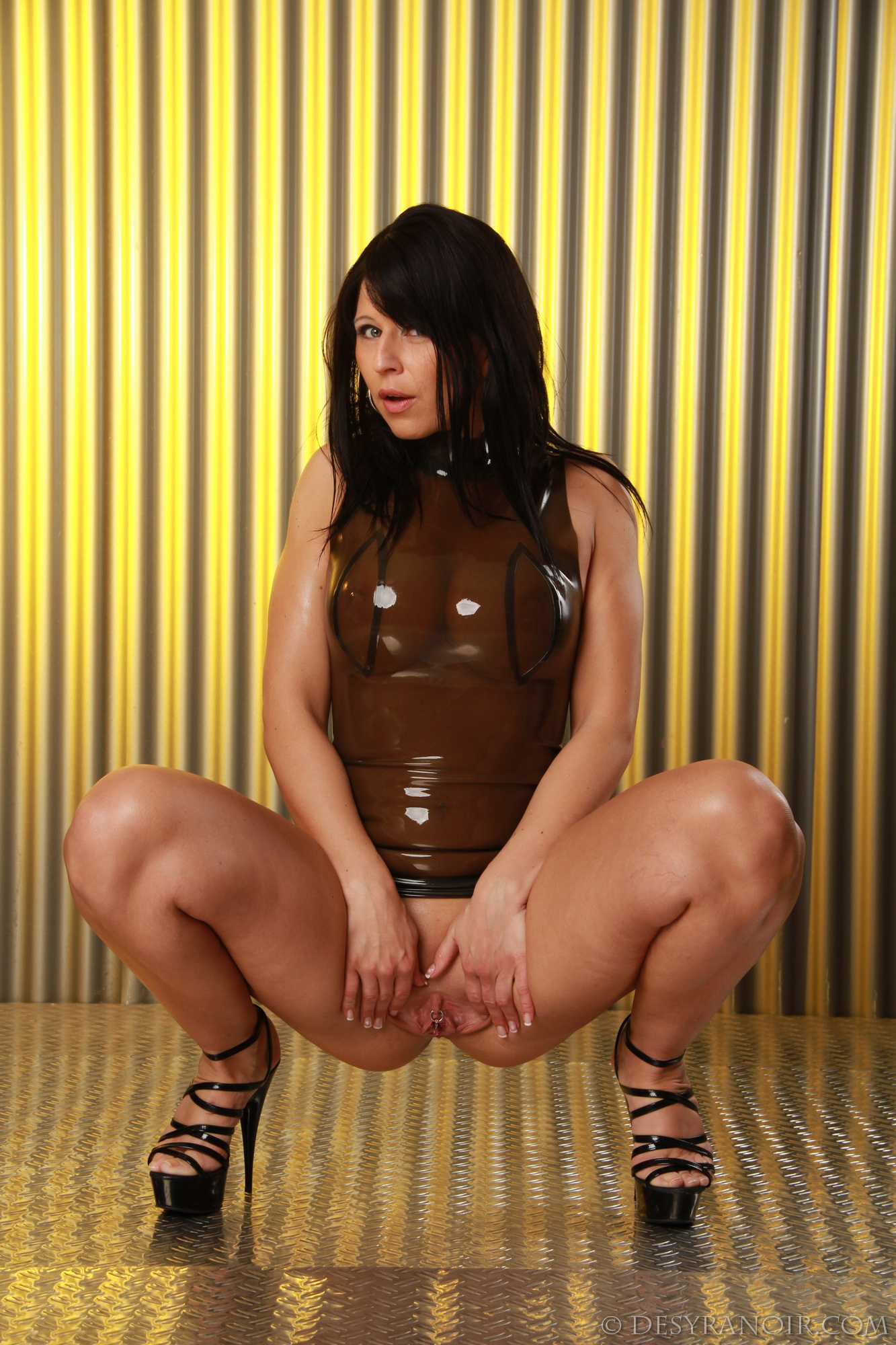 sex fetish wrapped in latex